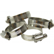 1524 Clamps stainless steel 4 pcs.